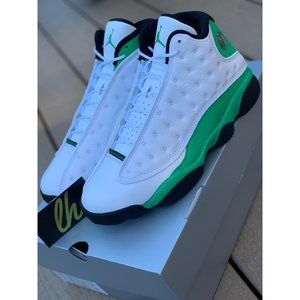 Nike Air Jordan 13 XIII Lucky Green White Black